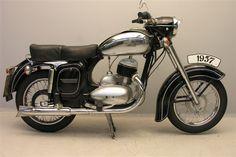 Jawa 353 250 cc 1958 - Jawa (entreprise) — Wikipédia