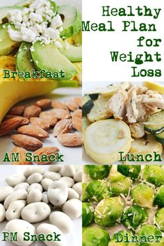 Enjoy daily healthy meal plans for weight loss! #weightloss #healthyeating