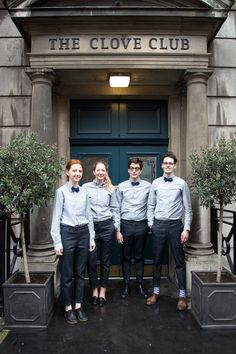 The Clove Club, UK, uniforms // story by Monocle
