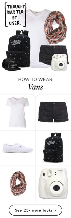 """""""TØP HighSchool B"""" by silversh0t on Polyvore featuring T By Alexander Wang, TWINTIP and Vans"""