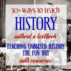 Le Chaim (on the right): 30+ Ways to Teach History WITHOUT a Textbook
