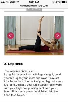 Leg climb