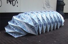 Google-kuvahaun tulos kohteessa http://www.origamisources.com/images/schipper_shelter1.jpg