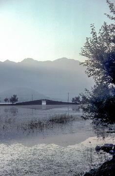 Sunrise on Nishat Suth, Dal Lake, Srinagar