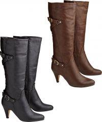 Ultimate Buckle Heel Boots