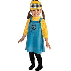 Minion Dave Halloween Costume- Child-Dress