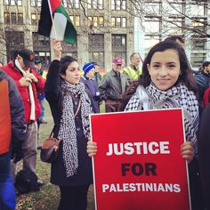 justice for palestinians....