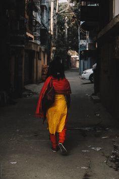 A street in Dhaka - null