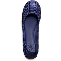 Watersnake Eddie Ballet Flat ❤ liked on Polyvore