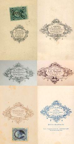 W. M. KNIGHT - Buffalo, N.Y. …… J. NELSON - Springfield,Mass. R.A.LEWIS - New-York ………… C. C. TAYLOR - Warren, Ohio …… VANNERSON & JONES - Richmond, Virginia … ……  SAYLOR'S New Gallery - Reading, Pa