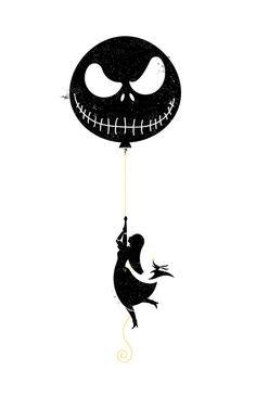 Nightmare Before Christmas Screen Printed by CrystalOicleCreative, $30.00