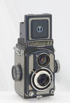 Vintage Yashica 44 A TLR 127 Rollfilm Camera by PastAndPresence, $50.00