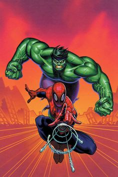 Spider-Man & the Hulk