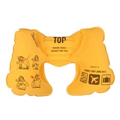 This is awesome! Safety Neckrest Yellow