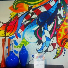 Wall mural, seriously neat! @Murals Your Way should have something like this