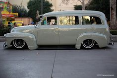1953 Suburban on bags I would think!