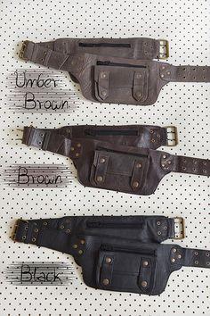 Selena Leather Utility Belt Sturdy Festival Belt Good