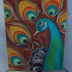 Peacock by Fancy Paints