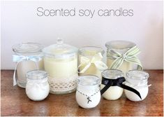 Top 10 Aromatic DIY Soy Candles