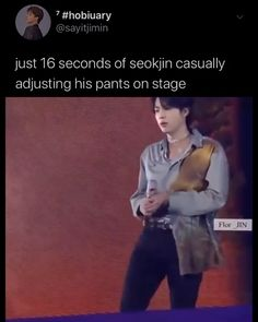 Bts Funny Videos, Bts Memes Hilarious, Bts Jin, Bts Bangtan Boy, Seokjin, Bts Dancing, Bts Tweet, Album Bts, Fandom Memes