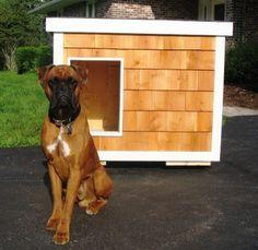 Dog House Plans - Police Dog Houses