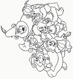 gummi_bears_coloring_pages_005 - Coloring Pages ABC Kids Fun Page