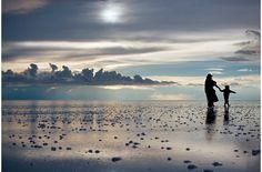 Marcher jusqu'au soleil...