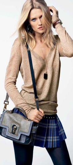 Toni Garrn for Juicy Couture Fall 2012 Lookbook