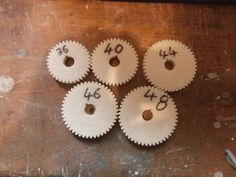 This is the second part of a set of change gears for cutting threads on an imperial leadscrew lathe these was designed for a South Bend lathe mod South Bend Lathe, Antique Tools, Machine Tools, Gears, Teeth, Centre, Two By Two, Change, Key