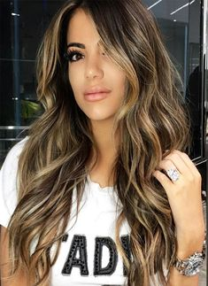 Beautiful Hottest brown blonde ombre hair color 2018 perfect way to make your hairstyles modern The post Hottest brown blonde ombre hair color 2018 perfect way to make your hairstyles m… appeared first on Top Haircuts . Hair Color 2018, Ombre Hair Color, Hair Color Balayage, Hair 2018, 2018 Color, Blonde Balayage, Bayalage, Balayage On Black Hair, 2018 Hair Color Trends