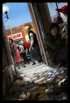 state of decay concept art
