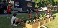 If you have a kid who loves helping out in the garden but you're always brushing the dirt off their knees, a raised bed may be the perfect addition to your landscape