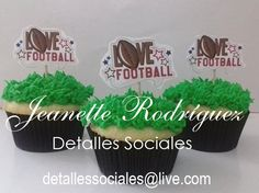 Cupcakes NFL