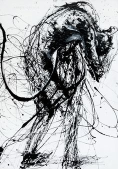 inlove with Agnes Cecile - drip painting Agnes Cecile, Scribble Art, Trash Polka, Black White Art, Drip Painting, Line Drawing, Gesture Drawing, Figurative Art, Dark Art