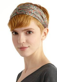 Image Result For Head Wrap For Short Hair Short Hair Accessories Headband Hairstyles Super Short Hair