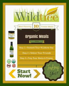 Simple, Healthy Workshops with Suzanne #Foods: #Organic Freezer Meals : Prepare and Save