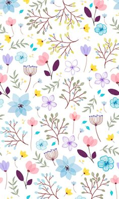 Beautiful floral pattern, perfect for girly wrapping paper or even a girl's bedroom wallpaper! Cute Wallpaper Backgrounds, Flower Backgrounds, Pretty Wallpapers, Flower Wallpaper, Pattern Wallpaper, Heart Wallpaper, Ipad Wallpaper Quotes, Screen Wallpaper, Mobile Wallpaper