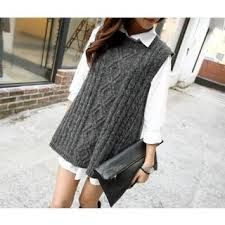 long knitted vest - Hľadať Googlom