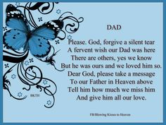 father's day in heaven quotes - Yahoo Image Search Results