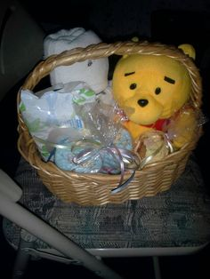 Check out this item in my Etsy shop https://www.etsy.com/listing/198765600/themed-gift-basket-for-a-baby-girl