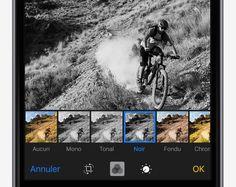 Ajouter un filtre à une photo - Conseils et astuces pour iOS9 sur iPhone - Assistance Apple