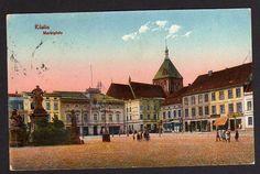 75647 AK Köslin Koszalin 1925 Markt