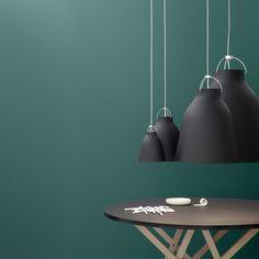 Lightyears Caravaggio P3 pendant, matt black | Pendants | Lighting | Finnish Design Shop