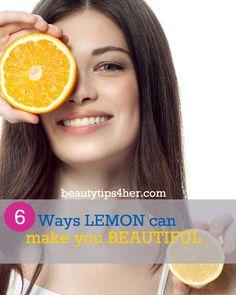 6 Ways Lemons Can Make You Beautiful | DIY Beauty Skincare and Health Tips
