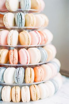 Macaron Cake | photography by http://www.artiesestudios.com/