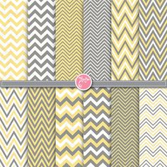 chevron digital paper pack yellow grey digital by YenzArtHaut, $3.50  https://www.etsy.com/listing/175591576/chevron-digital-paper-pack-yellow-grey?ref=sr_gallery_36&ga_order=date_desc&ga_view_type=gallery&ga_ref=fp_recent_more&ga_page=2&ga_search_type=all