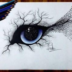 Výsledok vyhľadávania obrázkov pre dopyt eye creative drawing