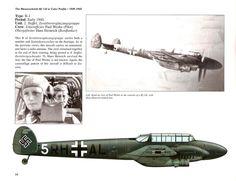 Messerschmitt Bf 110B-1 ,early 1940 . The Messerschmitt Bf 110 in Color Profile: 1939-1945 Fernando Estanislau & John Vasco