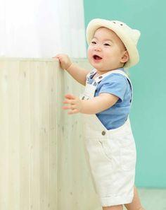 Manse~ so cute Superman Cast, Superman Kids, Song Il Gook, Minions, Cute Kids, Cute Babies, Triplet Babies, Korean Tv Shows, Song Daehan