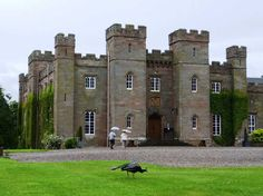 Scone Palace ~ Scone is a village in Perth and Kinross, Scotland.